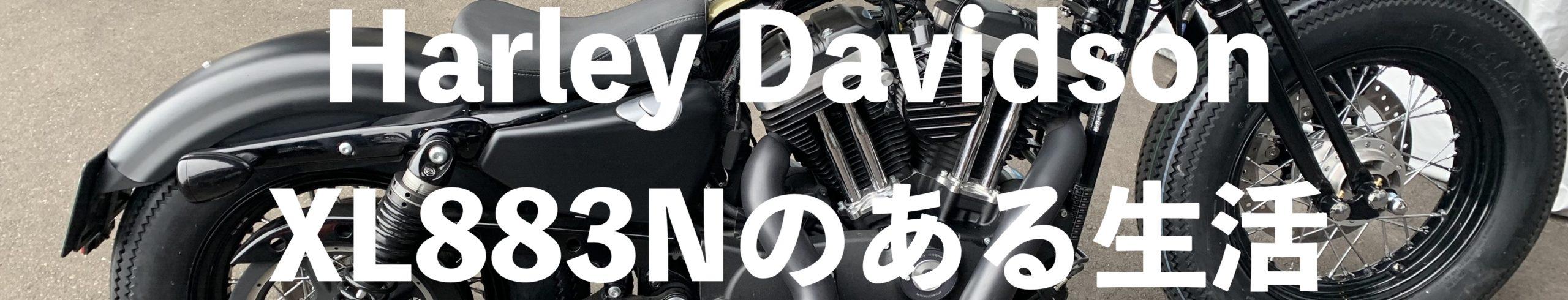Harley Davidson XL883N スポーツスターアイアンのある生活